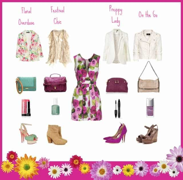 Fabric Clash - Best Styling Tips On How to Wear Florals
