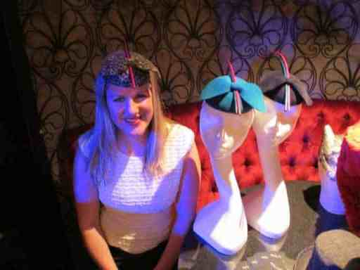 robyn coles - Lovehats launch party