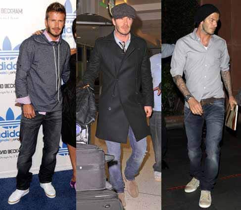 David Beckham Fashion Style - For Men To Learn By