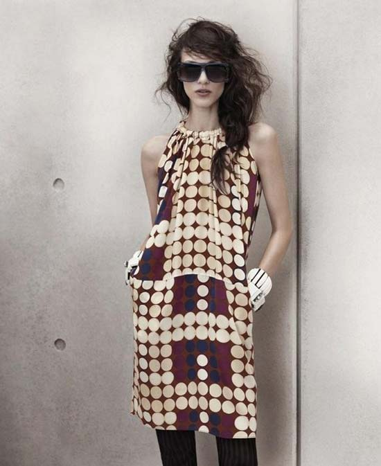 polka dotted dresses - summer 2012 unique style