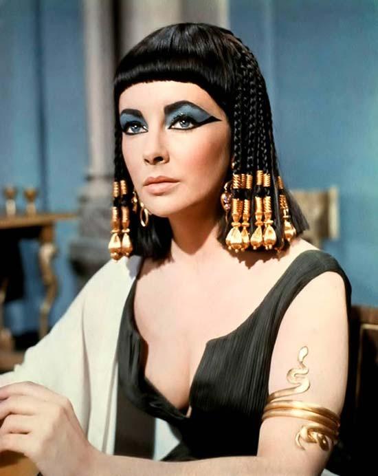 elizabeth taylor Fashion Icon - Cleopatra