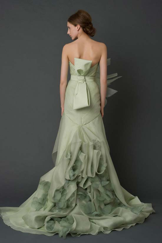 Corset Dress - vera wang 2012 collection