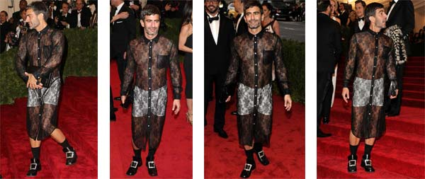 Met Gala 2012 – Marc Jacobs, Where Is The Class?