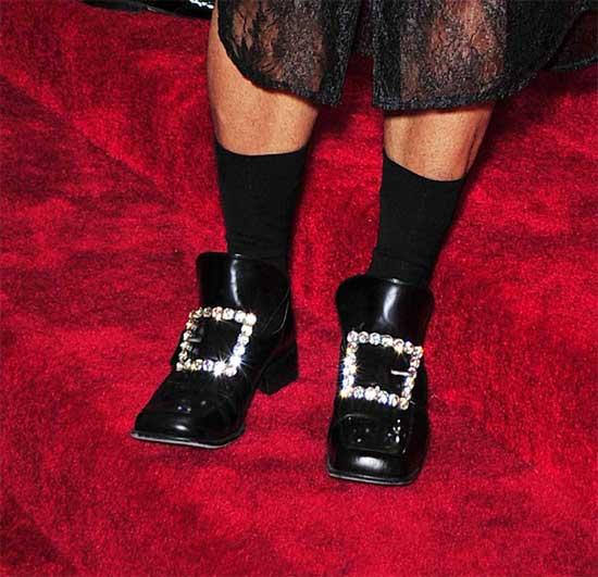 marc jacobs met gala 2012 shoes bling