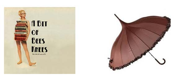 Lollipop Umbrella - Vintage