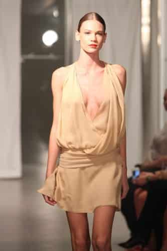 Sunhee-spring-2012,nude dress