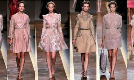 Valentino – Lace, Green and Chic Glamour 2013