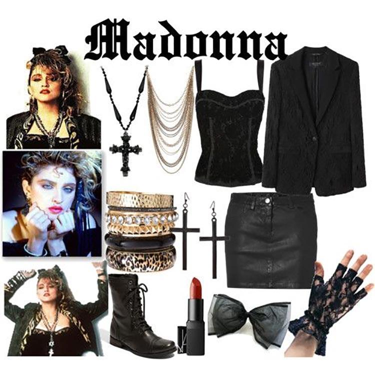 madonna 1980 fashion