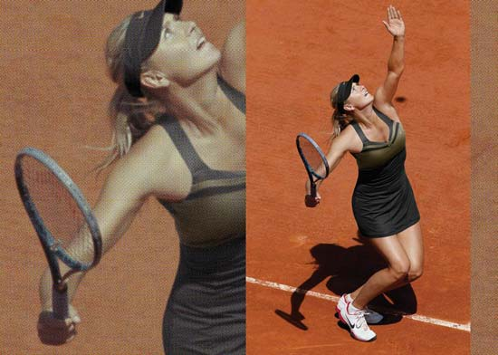 nike tennis - french open 2012 collection - Maria Sharapova