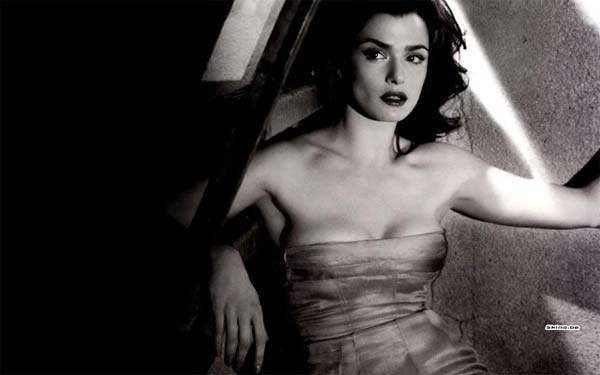 Rachel Weisz - strapless dress
