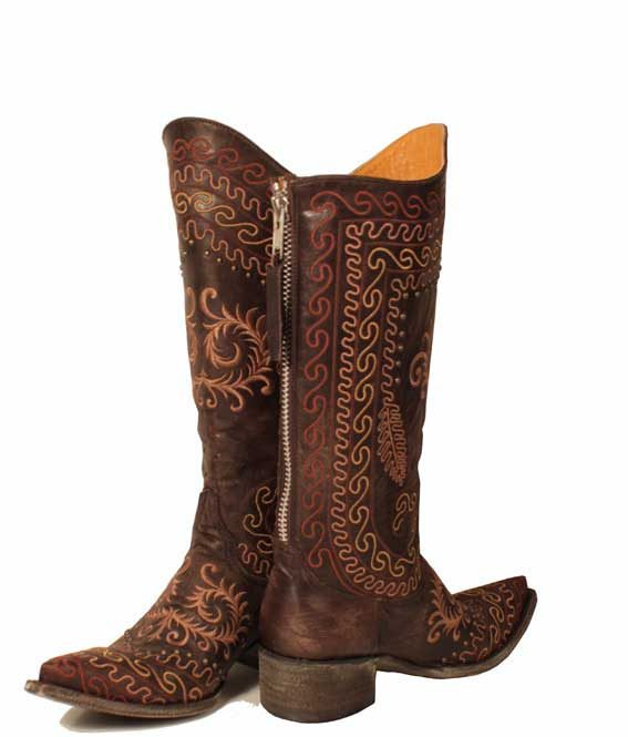 Zarape choc_back,R.Soles, cowboy boots