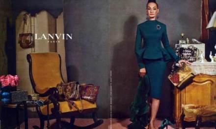 Lanvin – 80 Year Old Model's For Latest Campaign
