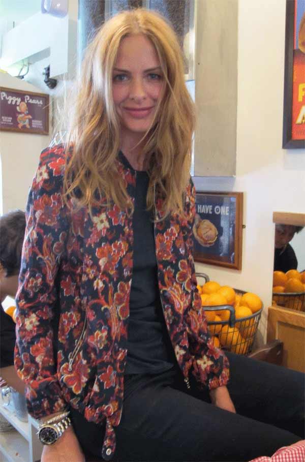 Trinny Woodall Fashion wearing a ZARA jacket
