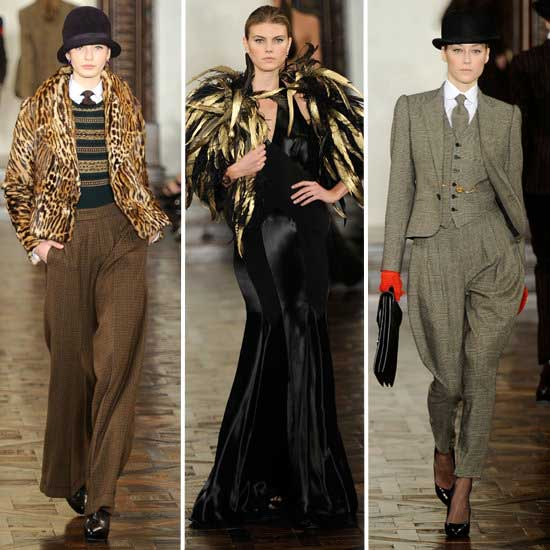 Ralph Lauren women suits Fall 2012