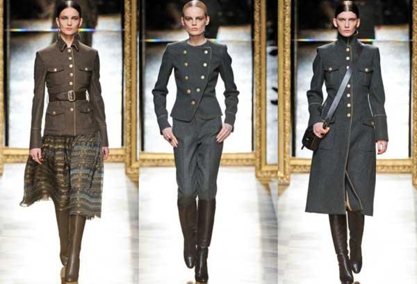 emporio armani - military women jacket