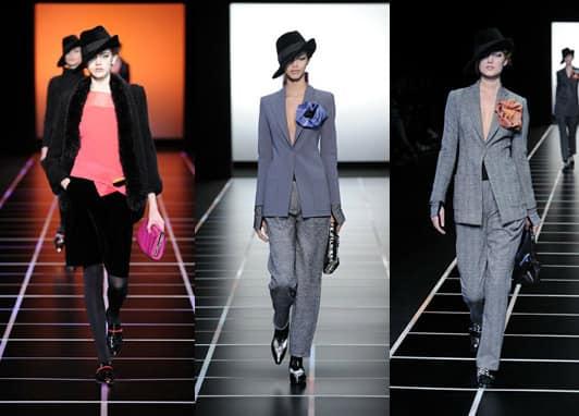 emporio armani women suits 2013
