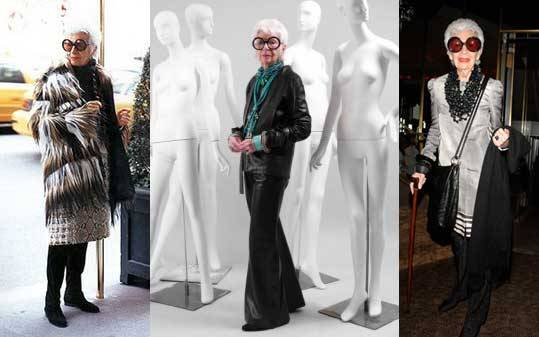 iris apfel - fashion icon