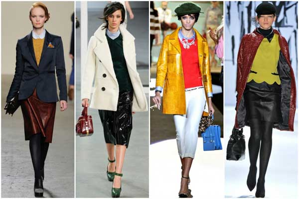 leather-layers, dresess-for-2012