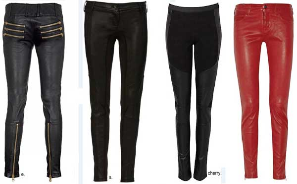 Sass & Bide Leather leggings and trousers