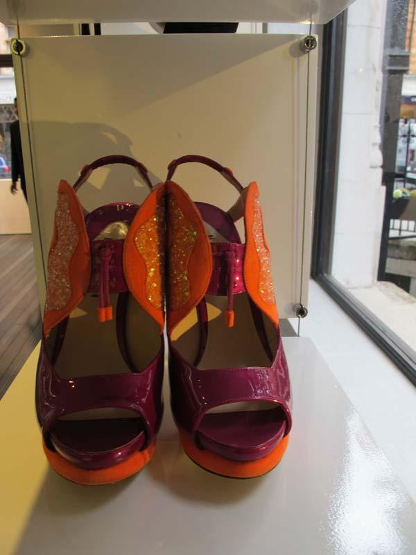 Nicholas Kirkwood  Shoes Orange Shoes