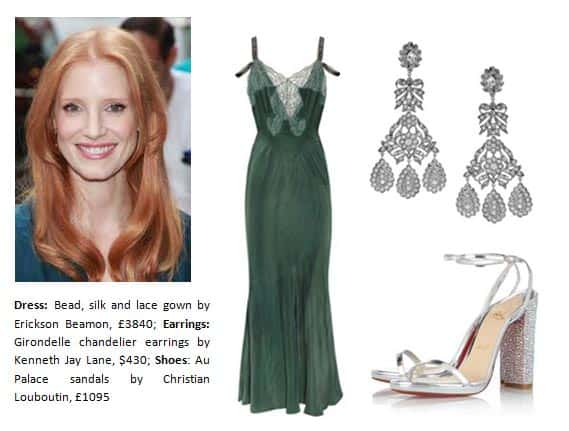 oscars nominee 2013 Jessica Chastain