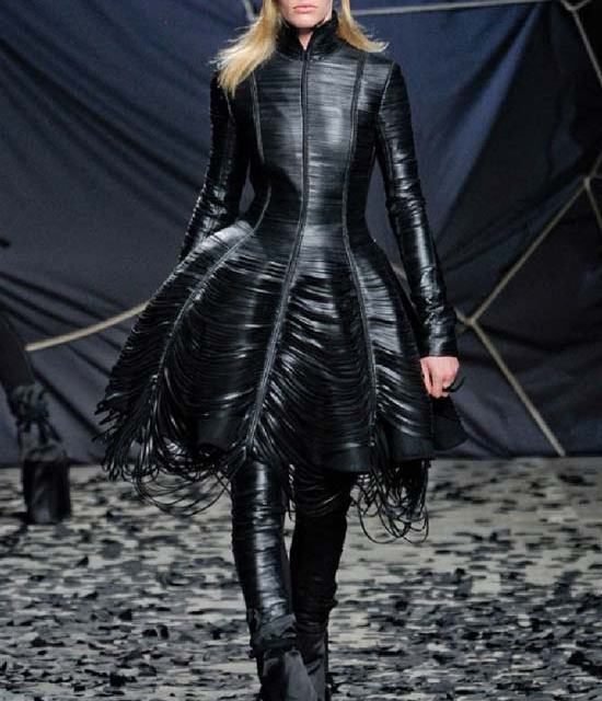 Gareth Pugh – Leather Rock Chic Fashion