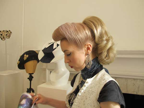 London Fashion Week 2013 - beehive hairstyles for women