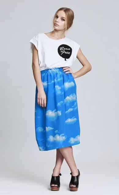 QooQoo Botanika Sky High Skirt