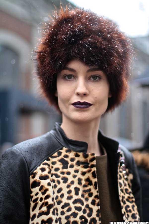 Russian hat for women 2013