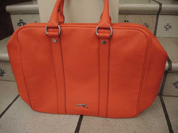 Bimba and Lola - Orange Travel bag for 2013