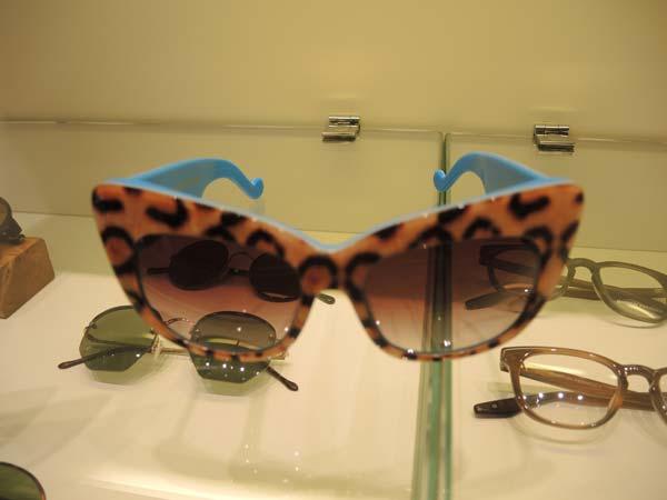 Optica Toscana Eyewear Barcelona leopard frames