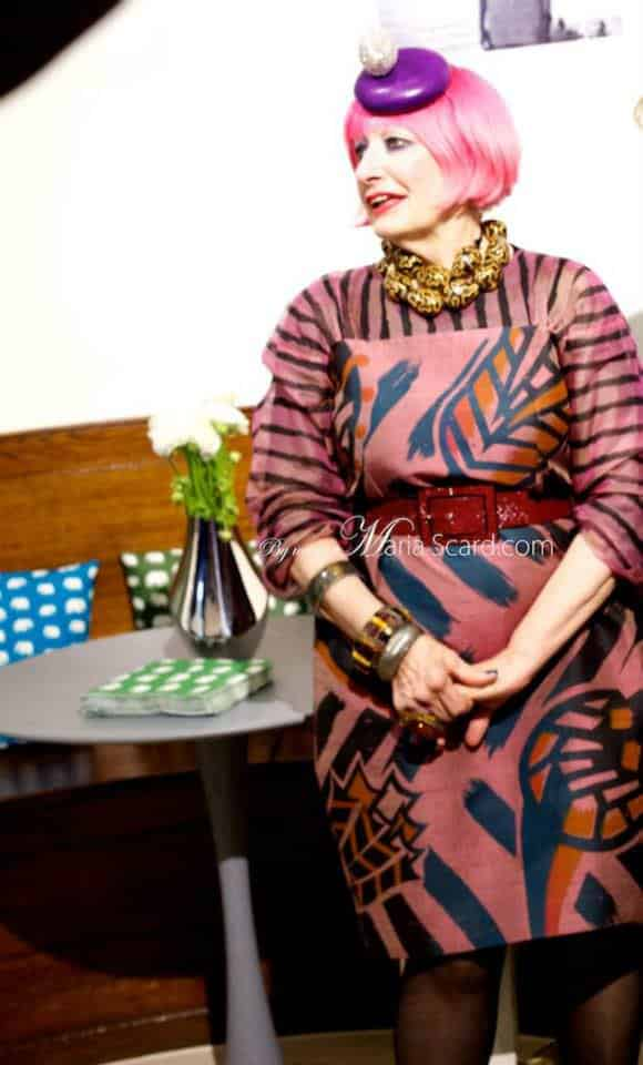 Zandra Rhodes - English Fashion Designer 0