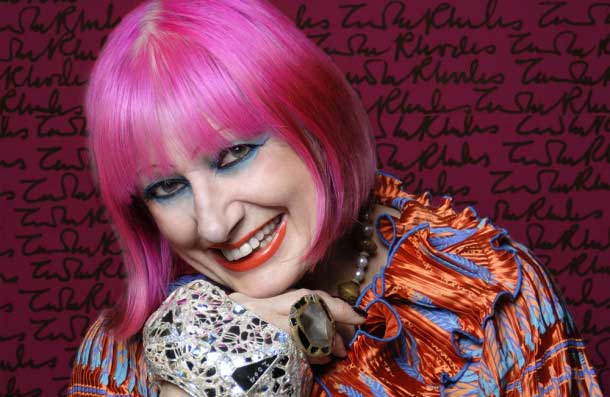Zandra Rhodes – Revolutionising Opera On and Off The Stage