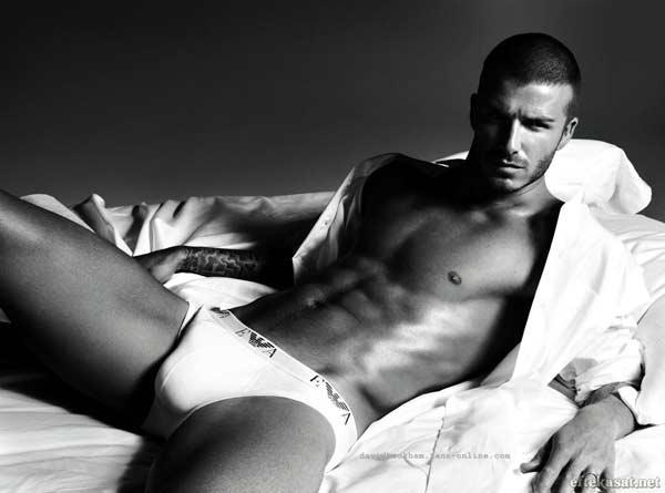 David Beckham - Armani underwear