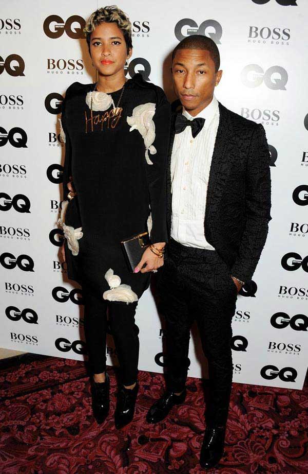 Pharrell-Williams- GQ Men Of The Year Awards 2013