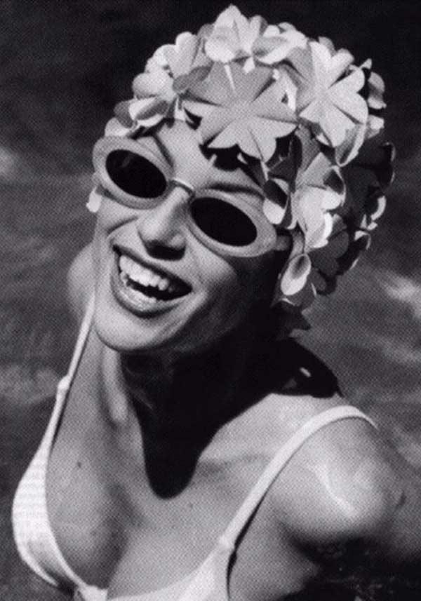 Swim Cap - Vintage