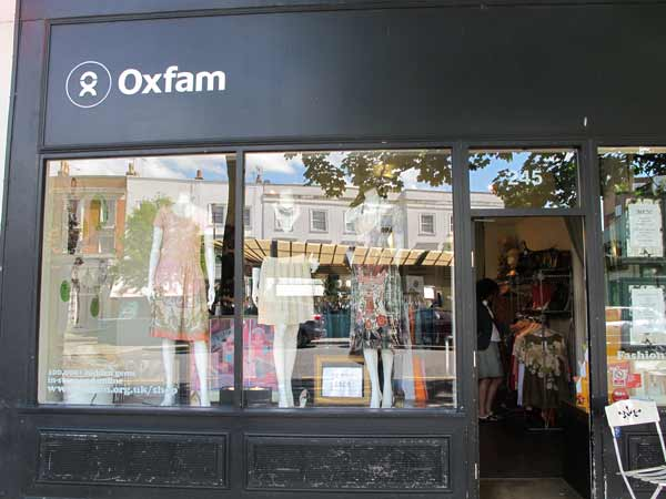OXFAM - Westbourne Grove  Nottinghill