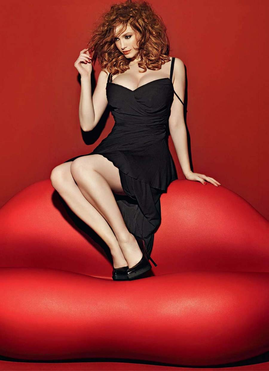 Christina Hendricks Esquire magazine