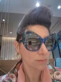 Gracie Opulanza - Peacock eyewear