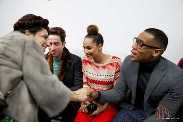 Reggie Yates - London Collections Men 2014