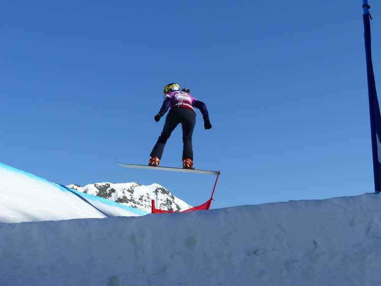 Eva Samkova - Snow Boarder Womens Champion for FSX Andorra 2014