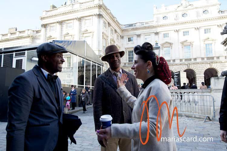 Harris Tweed - London Fashion Week 2014