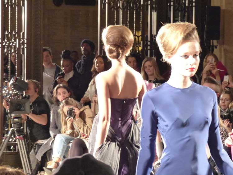 Iconic Hairstyles - London Fashion Week 2014