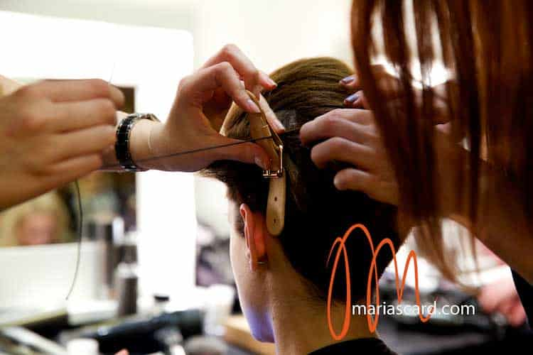 Backstage London Fashion Week – Hairstyle Trends Toni & Guy