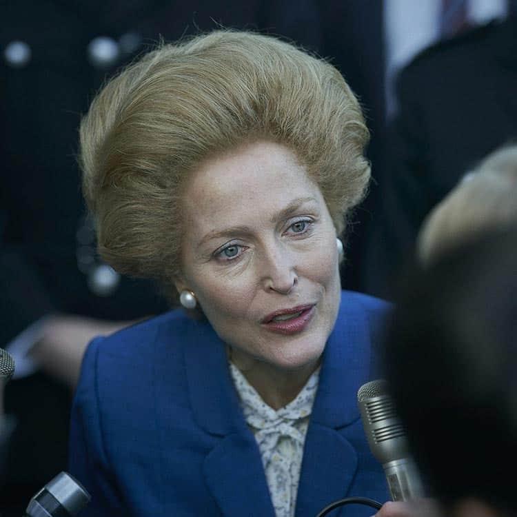 The crown netflix season four Margaret thatcher