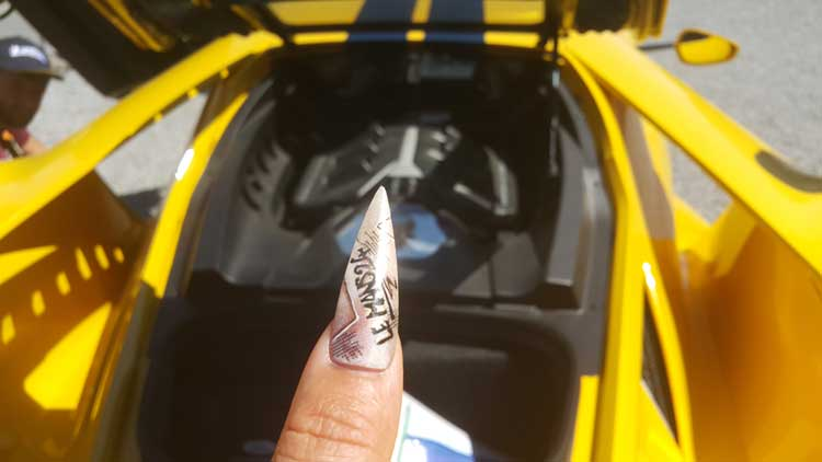 Nail Art Gracie Opulanza Le Masn 24hr Race