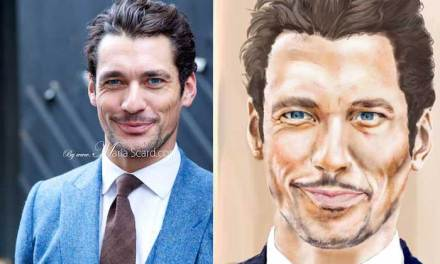 David Gandy Sketch – An Artist's Struggle