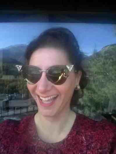 Gracie Opulanza - wearing eyewear from sendoptics fendi