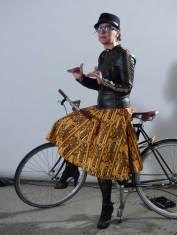 Gracie Opulanza with Greg Minnaar three times Downhillmountain bike world champion (4)
