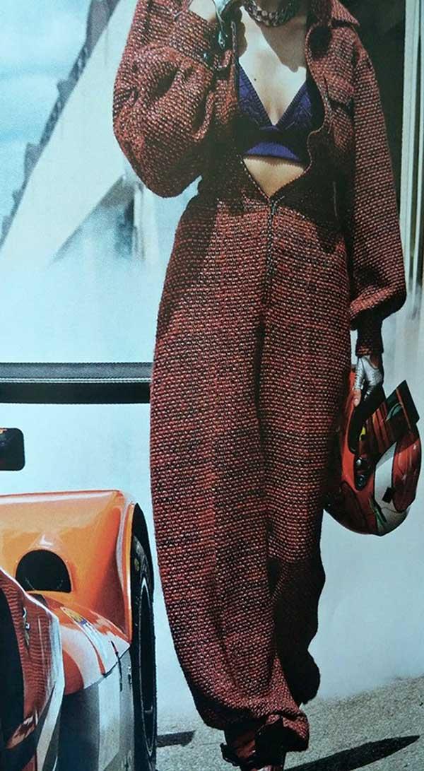 Chanel tweed jumpsuit 2015
